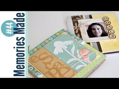 Memories Made #44 Scrapbooking Process Video: Accordion Folded Mini Albums