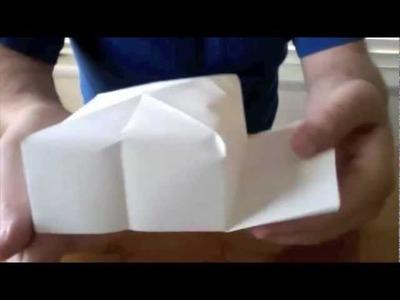 Origami Baseball Hat