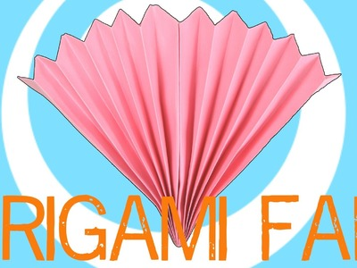 Paper Origami Fan Instructions
