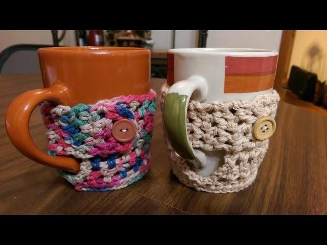 Part 1 Oh My Comfy Cozy Crochet Mug Cozy Tutorial