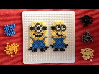 Perler Beads Tutorial: Despicable Me (Minions)