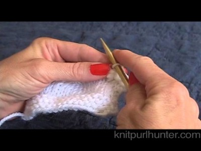 Picot Bind Off