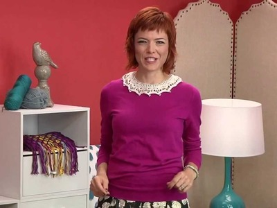 Preview Knitting Daily TV Episode 1207 with Vickie Howell - Vintage Knitting