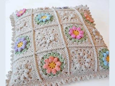 Primavera Flowers Baby Crochet Blanket