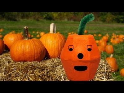 Pumpkin crafts: little pumpkins for Halloween