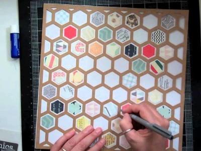 Scrapbooking Process 115: Planetarium Studio Calico Kit