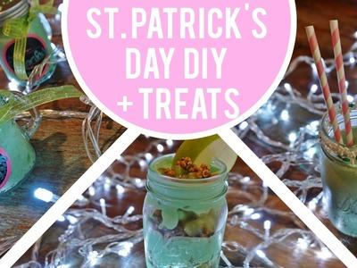 St. Patrick's Day DIY Gift Idea + Green Treats! | KristenLeanne8