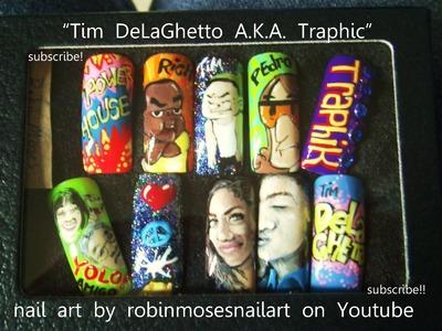 Tim DelLaGhetto Traphik Nail Art