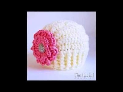 Très Chic hat (ALL sizes!) Crochet Hat Pattern Presentation