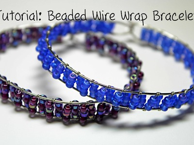 Tutorial: Beaded Wire Wrap Bracelet