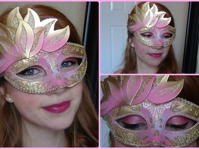 Under the Mask: Masquerade Makeup Tutorial ♥