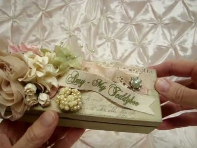 Wild Orchid Crafts - Design Team Project - embellished wood box and charm.tassel