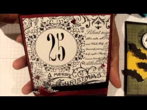 Winter Scrapbook Projects Part 1 of 4