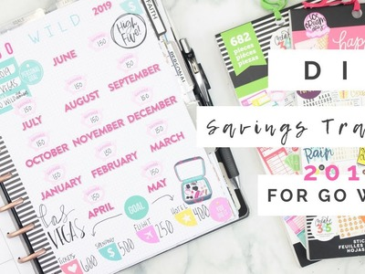 D-I-Y GO WILD 2019 Savings Tracker | At Home With Quita