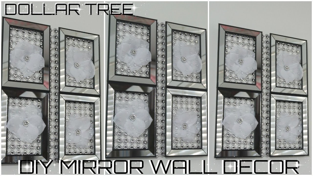 Diy Dollar Tree Mirror Wall Decor Wall Decor Ideas