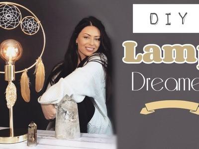 DIY Dream Catcher Lamp || Night Light || Bedroom Ideas
