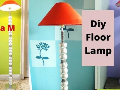 Diy Floor Lamp    Ball Floor Lamp   Designer Floor Lamp   Diy Home Decor   Sikha M