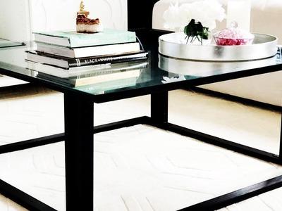 DIY - Making A Simple Wood Coffee Table
