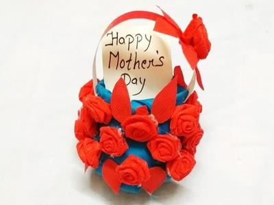 Diy Mother's Day Gift Idea 2018.Plastic bottle basket for gift. plastic bottle craft. Preeti Chauhan