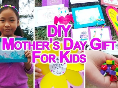 DIY Mothers Day Gift - 10 Easy DIY Mothers Day Gift For Kids