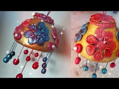 DIY WIND CHIME ART PIECE | ROOM DECOR IDEA | SCHOOL PROJECT | shipkar clay craft