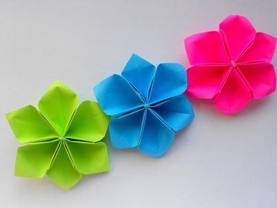 Origami easy paper flowers tutorial petal flower diy flower easy paper flowers tutorial petal flower diy flower mightylinksfo