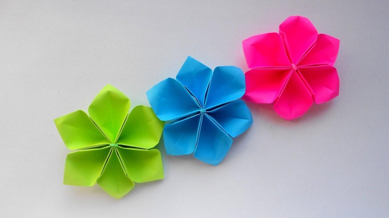 Easy Paper Flowers Tutorial Petal Flower Diy Flower