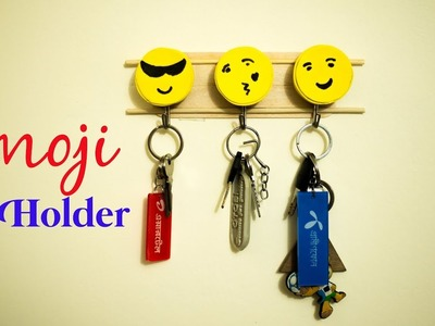 How to make Emoji Key Holder::Diy Emoji Key Holder |Home decor Idea|