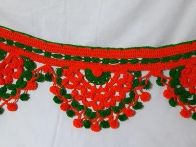 Make (DIY) New Design Toran no 6 from use wool
