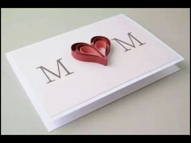 Mother Day Cards Ideas Beautiful Mother Day Handmade Card