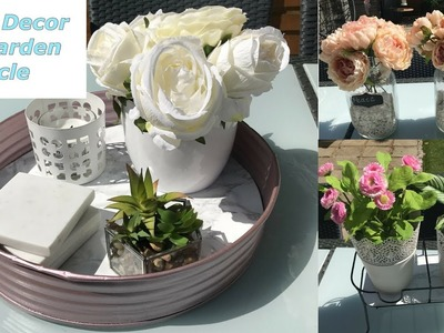 New Home Decor- - DIY Garden  Upcycle for Spring and Summer