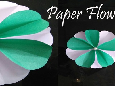 Paper Flower very easy pearl centered