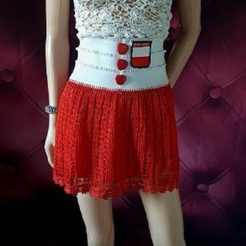 Poland Two Piece Skirt