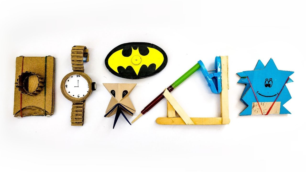 Top 6 Homemade Diy Toys For Kids