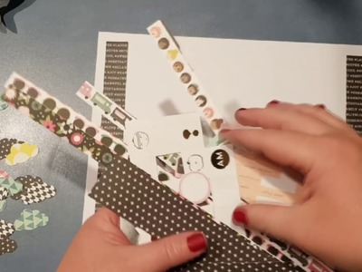 Using Leftover Kits.Scraps. . DIY embellishments and projects ~~ Part 1