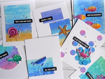 Using Up Your Watercolor Paper Scraps