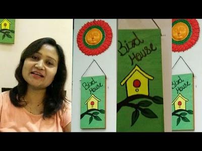 Wall decor DIY,room decor,easy painting,anvesha,s creativity