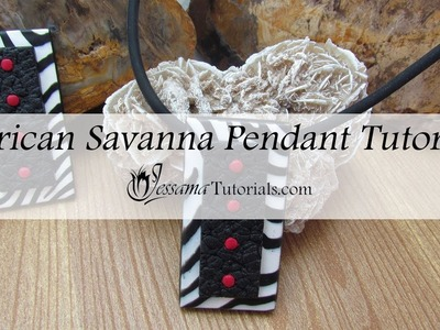 African Savanna Pendant Tutorial