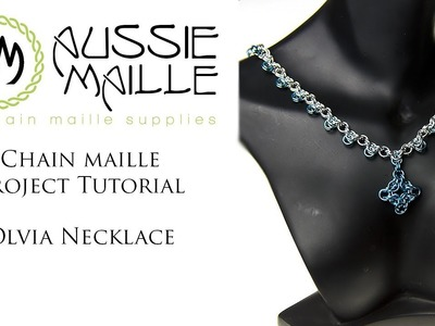 Chain Maill Tutorial - Olivia Necklace