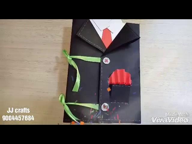 Happy Birthday Dad Gift Idea Diy Scrapbook