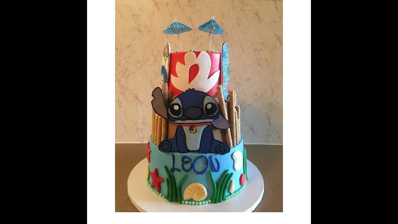 Stitch Cake | Lilo & Stitch Theme Party | Disney Cakes Ideas | DIY & How to