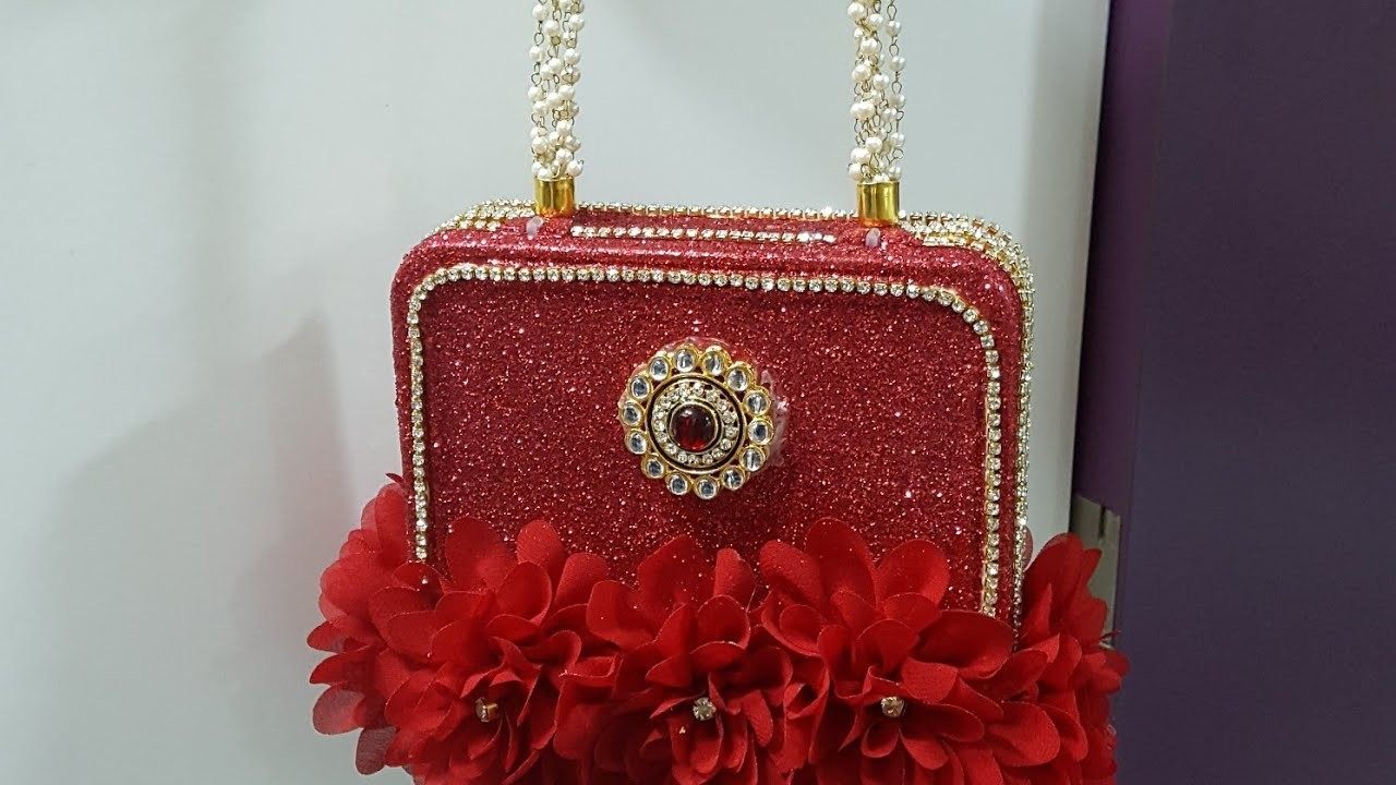 114. Party Purse Out of A Plastic Box