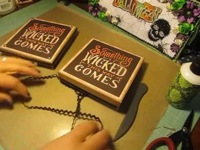 13 Haunted Projects of Halloween #8~ Gift Box 5 1.2 X 5 1.2 X 1