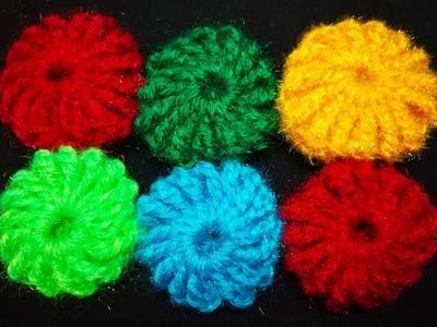 234-Crochet#35,Crochet Yoyos for baby blanket(Hindi. Urdu)