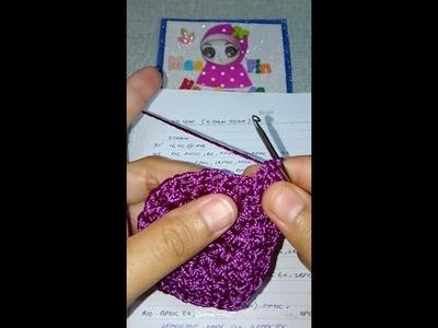 3D Leaf Crochet Bag Row4