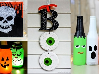 8 Easy And Cool DIY Halloween Decor Ideas! Amazing DIY Projects for Halloween!