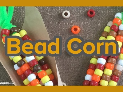 Art Activities for Kids: Bead Corn Craft by ABCmouse.com