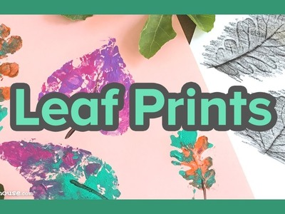 Art Activity for Kids: Leaf Prints by ABCmouse.com