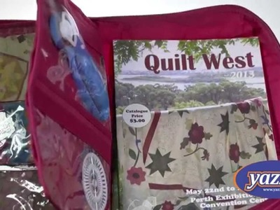CA880 - The Quilter's Project Bag - Available on Yazzii.com!