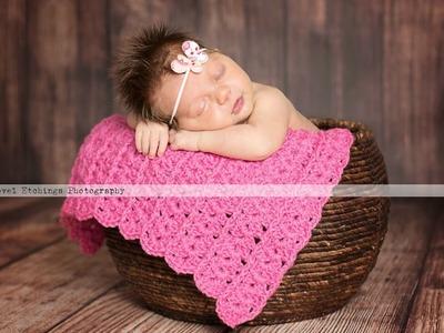 Carousel Blanket Crochet Pattern |  Crochet Tutorial